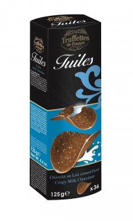 Choco chips milk chocolate 125g